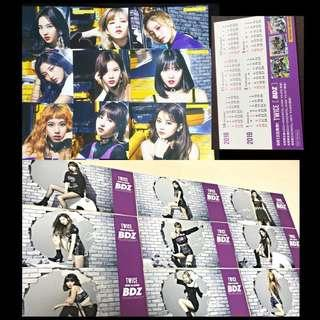 [PO] Twice BDZ Tsutaya and HMV Flyer Photocard