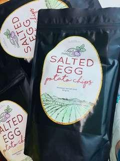 OUT OF STOCK-Salted Egg Potato Chips