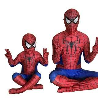 🚚 Kids Spiderman Costume Cosplay Fancy Dress Spider Super Hero Boys Men Suit
