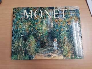 Claude Monet Huge Art Hardcover Book