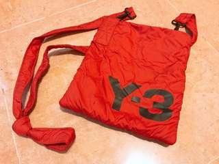 Y3 斜咩袋 紅色 斜揹袋