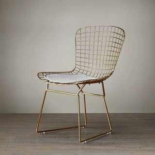 Nordic Gold Chair