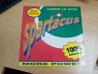 The Farm Spartacus Britpop Vinyl LP Original pressing