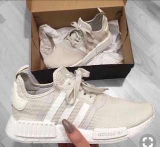 NMD BEIGE R1S SIZE US 6-7 WOMENS