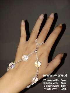 Ring bracelet swarovsky