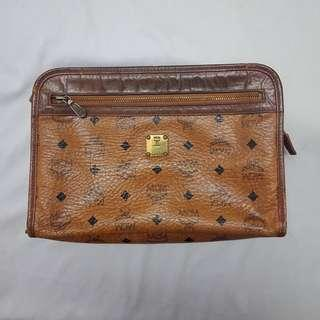 Auth. MCM Clutch