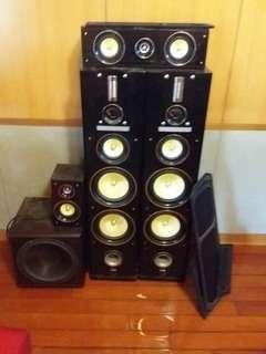 家用重低音響