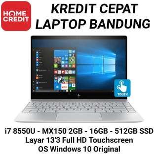 HP Envy 13 AD181TX KREDIT Laptop Bandung Cimahi Ada Juga Asus Rog HP Omen Dell Pandora Alienware Lenovo Legion Yoga Samsung Envy