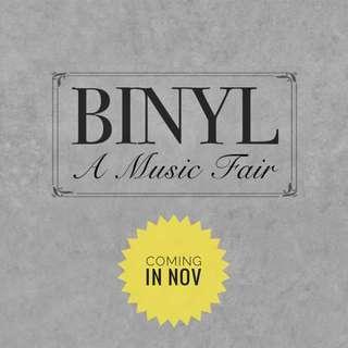 Binyl Record Fair coming up in November