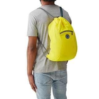 BNIB Crumpler squid yellow drawstring bag