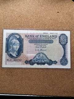 1957 BACK OF ENGLAND