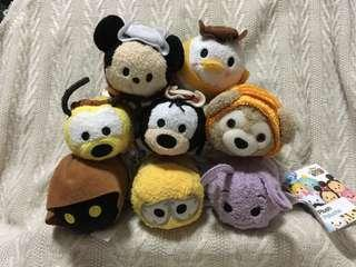 Disney Tsum Tsum Set B($150@All)