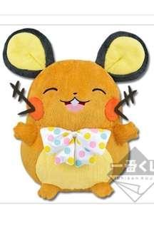 Ichiban kuji Pokémon research dedenne prize A