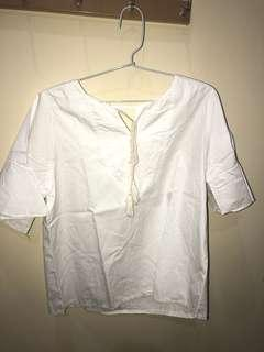 No brand - White top