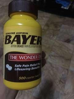 Genuine Aspirin Bayer Safe Pain Relief, Lifesaving Benefits