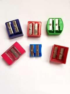 Assortments of plastic sharpeners