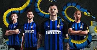 Inter Milan 17/18 Home Player jersey - Aeroswift, size S