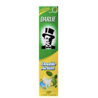Darlie toothpaste original strong double action mint