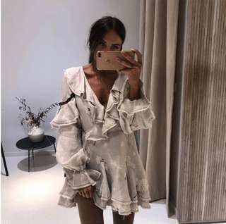 HIRING Aje Fiona Wrap Dress