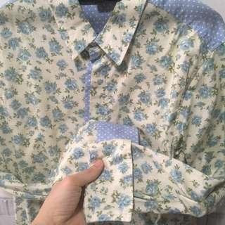 Fashion Lab Button Shirts (floral & Pattern)