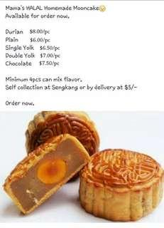 Halal Mooncake  ( Close Order )