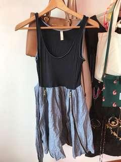 🚚 BN MODCLOTH contrast dress