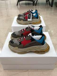Eu 42 Balenciaga triple S Multicolour