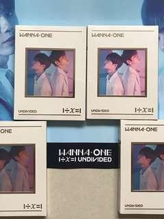INSTOCK WANNA ONE UNDIVIDED