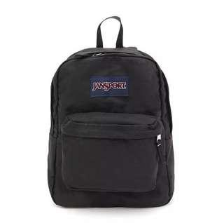AUTHENTIC Official Black Jansport Backpack / Bag