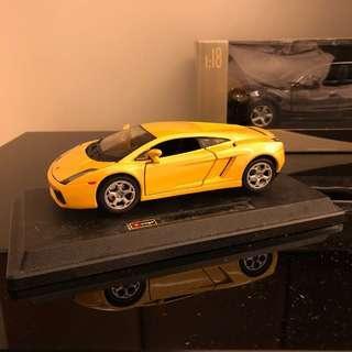 1:24 Lamborghini Gallardo 金屬模型車