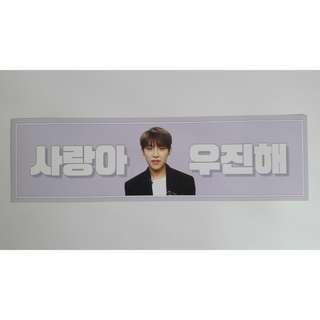 wanna one park woojin mini banner