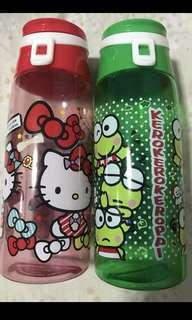 Hello kitty/Kerroppi water bottle (650ml)