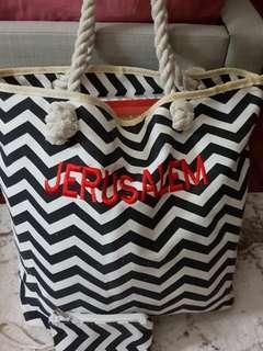 """Beach bag 15""""h x 20.5""""w"""