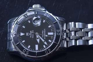 Tudor Prince date hydronaut 89190P mens automatic watch