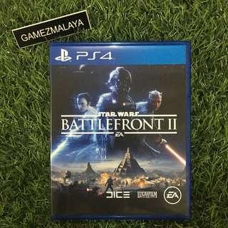 [USED] PS4 STAR WARS BATTLEFRONT 2 - (GAMEZMALAYA)