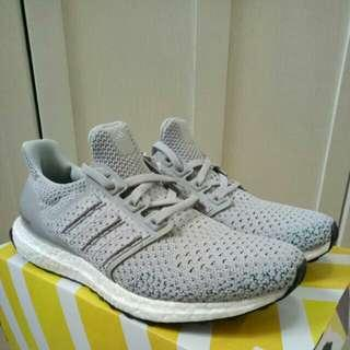 🔥UK8🔥 Adidas Ultra Boost Ultraboost Clima Grey Limited Edition