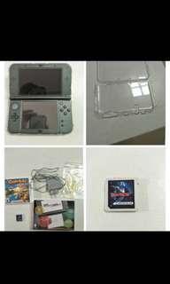 Nintendo 3ds xl console+games