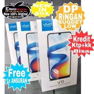 VIVO V11 New [64GB/6GB] Resmi Cash/Kredit Tanpa CC DP JApri Wa;081905288895