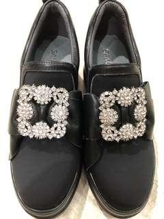 🚚 Sakura Diamond Platform Shoes