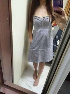 Padini denim tube dress