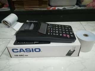 Casio HR-8RC-BK Calculator with Printer
