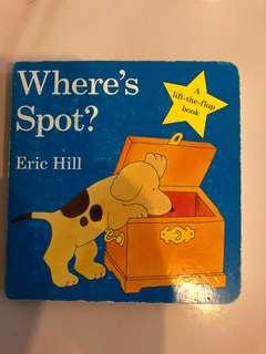 Where's Spot? - Lift the flap book