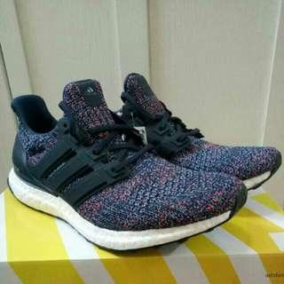 🔥UK8🔥 Adidas Ultra Boost 4.0 Navy Multi Color