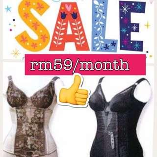 Authentic 💯Premium Beautiful Corset Bodyshaper slimming #MidSep50