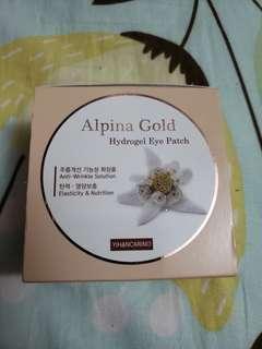 Korea Yihancarino Alpina Gold Hydrogel Eye Patch Eye Mask 保濕眼膜