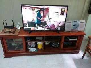 Tv cabinet solid wood CLEARANCE SALE!
