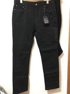 LV Fragment Black Jeans 牛仔褲 W33