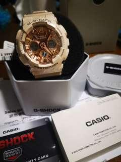 G SHOCK GMAS120MF-4A Casio Ca1 pink/beige color ladies unisex men