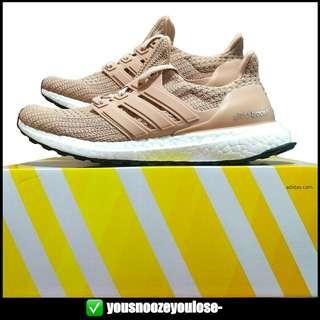 [PREORDER] ADIDAS ULTRA BOOST ULTRABOOST 4.0 ASH PEARL / ASH PINK