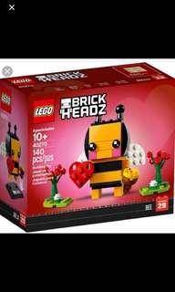 *In Stock* Lego 40270 : Brickheadz Valentine'sBee